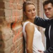 Young beautiful couple — Stock Photo