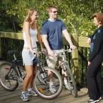 Couple On Bikes — Stock Photo #31604597