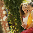 Two Teenage Girls — Foto de Stock
