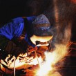 Stock Photo: High Pressure Pipe Welder