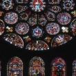 Stock Photo: Ornate Stained Glass Windows