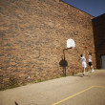 Two Basketball Players — Stock Photo