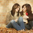 Mother And Daughter Share A Smile — Stock Photo