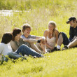 Stock Photo: Group Of Teenagers Together