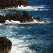 Stock Photo: Rocky Coastline And Sea