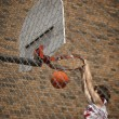 Stock Photo: Slam Dunk