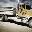 Side View Of Dump Truck — Stock Photo #31609779