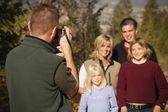 Foto de familia amistosa — Foto de Stock
