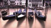 Gondoly v canal grande — Stock fotografie