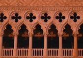 Venedik i̇talya sıcak doge sarayı'nın sesleri — Stok fotoğraf