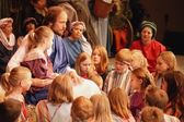 Jesus With The Children — Stock Photo