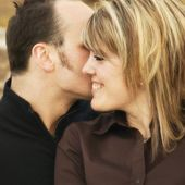 Portrait Of A Couple — Стоковое фото