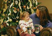 クリスマスには本を読んでください。 — ストック写真