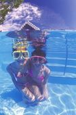 Underwater Fun — Foto Stock