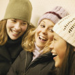 Stock Photo: Group Of Girls Laugh