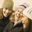 Group Of Girls Laugh — Stock Photo #31611511