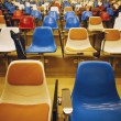 Seating In A Lecture Hall — Stock Photo