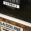 Stock Photo: Old Gasoline Pump Display