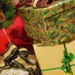 Gifts At Christmas — Stock Photo