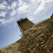 Stock Photo: Gravel Pile