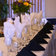 Stock Photo: Formal Place Settings