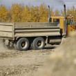 Stock Photo: Large Truck At Construction Site