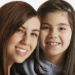 Stock Photo: Portrait Of Two Girls