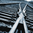 Railroad Tracks — Stock Photo
