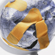 Broken Patched Globe — Stock Photo #31616151