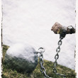 Stock Photo: Ball And Chain