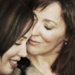 Mother And Daughter Share A Special Moment — Stock Photo