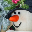 Close-Up Of Snowman — Stock Photo