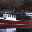 Fishing Boat With Lobster Traps — Stock Photo #31619911