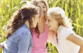 Giggling Girls — Stock Photo