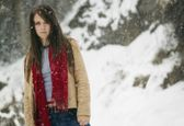 Young Woman In The Snow — Stock Photo