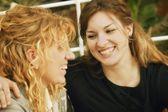 Two Women Laugh Together — Foto de Stock