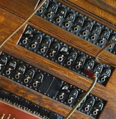 An Old Switchboard — Stock Photo