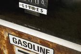 Old Gasoline Pump Display — Stock Photo
