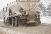Sanding Truck — Stock Photo