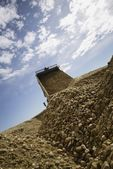 Gravel Pile — Stock Photo