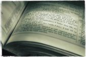 Book Of Psalms — Stock Photo