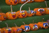 Pumpkin Faces — Stock Photo