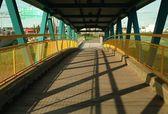 A Small Covered Bridge — Стоковое фото