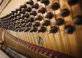 Filo pianoforte — Foto Stock