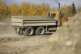 Large Truck At Construction Site — Stock Photo