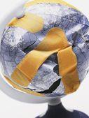 Broken Patched Globe — Stok fotoğraf