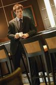 Businessman With Cup Of Coffee — Stock Photo
