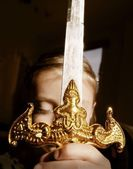 Ornamental Sword — Stock Photo