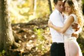 Couple Together In Nature — Stock Photo