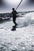 A Wake Boarder — Stock Photo